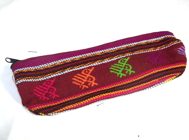 Mexitraders Woven Textile Pencil Case